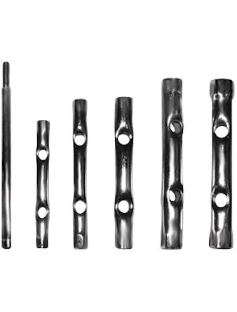 Ключи FIT трубчатые набор 8 - 17 мм