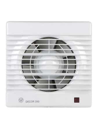 Вентилятор Decor 200CH датчик влажности