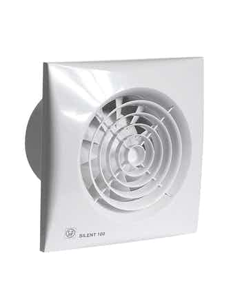 Вентилятор Silent 100CHZ датчик влажности