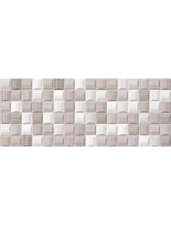 Декор облицовочный Enjoy Mosaico Taupe, 20х50, 12шт/уп