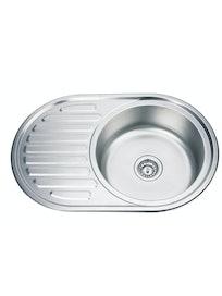 Кухонная мойка Thor D7750PF, текстурированная, 77 х 50 см