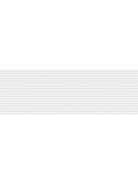 KUVIOLAATTA SOUL LINES 25X76 VALKOINEN