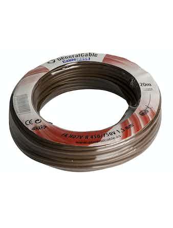 Kabel Gelia Fk 1.5 Brun 20m/Ring Ho7V-R