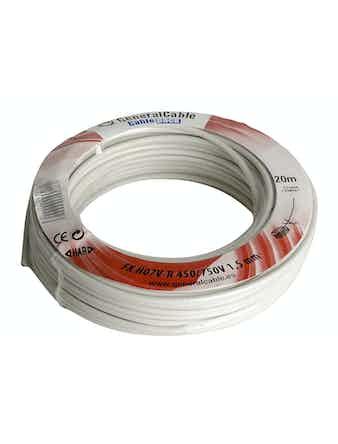 Kabel Gelia Fk 1.5 Vit 20M/Ring Ho7V-R
