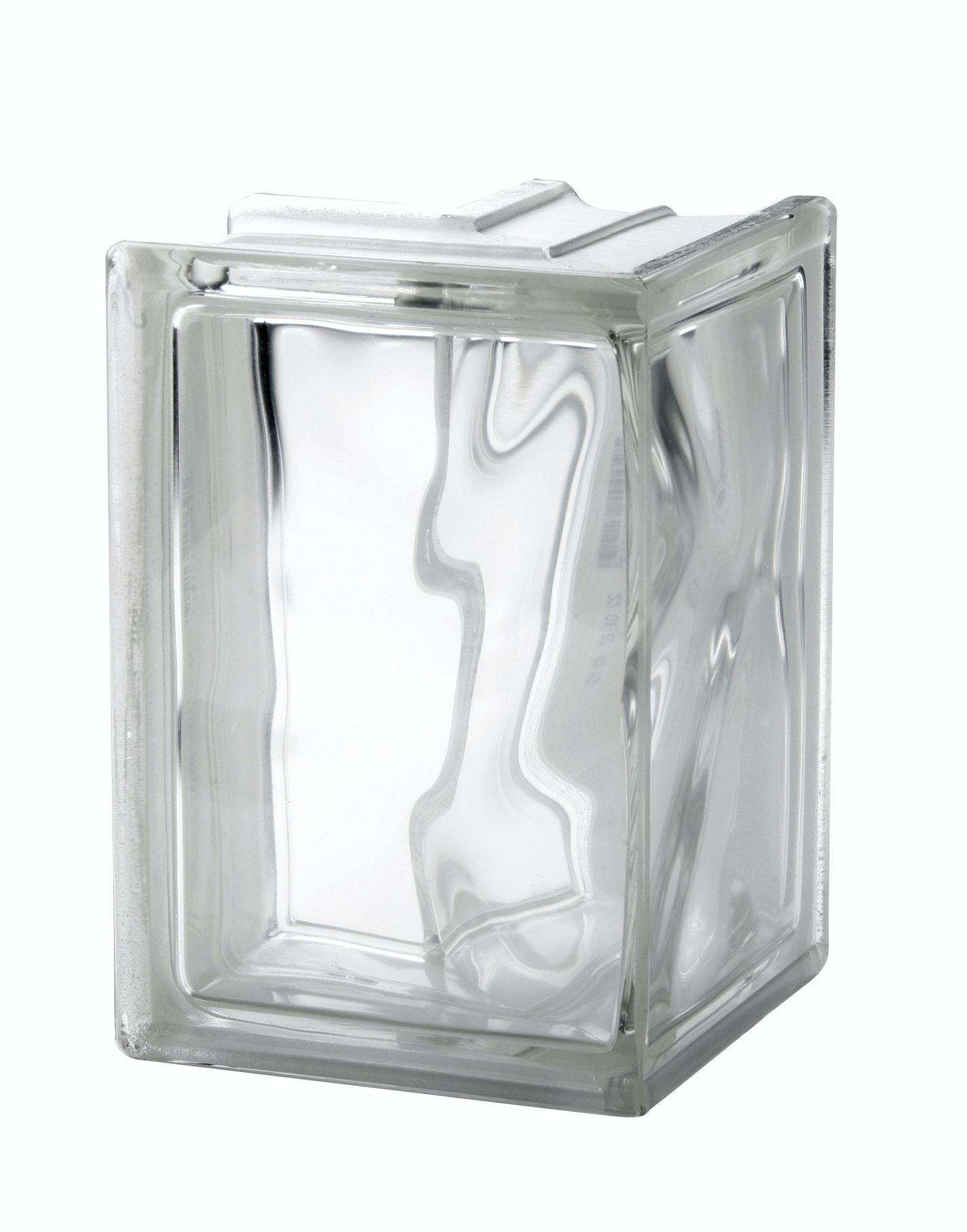 Glasblock Vetro Molndekor klar hörn