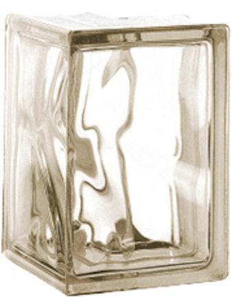 Glasblock Vetro Moln Brun
