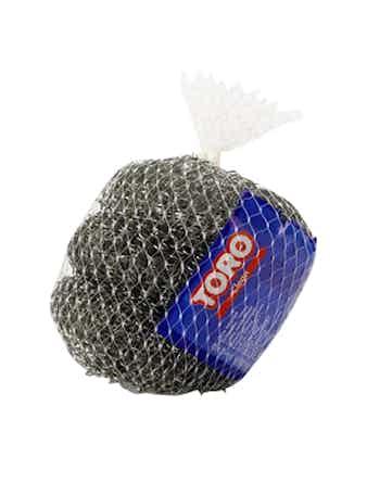 Губка TORO металлическая 3шт, арт. 500002