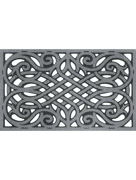 OVIMATTO 45X75CM WROUGHT IRON