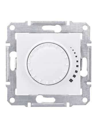 Светорегулятор Sedna поворотный, 25-325 Вт, белый