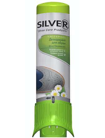 Дезодорант для обуви Silver, 100 мл