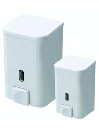 Дозатор для жидкого мыла SD01, белый, 500 мл