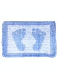 Коврик для ванной Paty Foot, голубой, 40 х 60 см