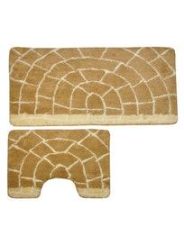 Коврики для ванной Torino D-14956, 60 х 100 см, 2 предмета