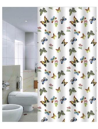 Штора для ванной Butterflies, 180 х 200 см