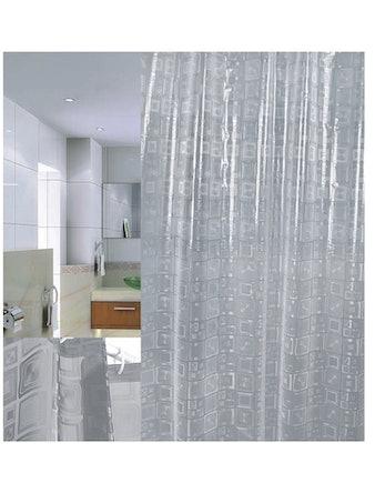 Штора для ванной 3D Squares PVC, 180 х 200 см