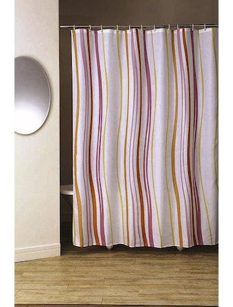 Штора для ванной Aurora, оранжевая, 180 х 200 см