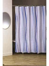 Штора для ванной Aurora, голубая, 180 х 200 см