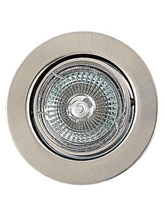 Светильник встраиваемый De Fran FT9222 MR16, сатин/хром