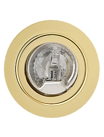 Светильник мебельный De Fran FT9216, цвет золото с лампой, 20 Вт