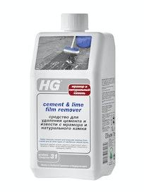 Средство HG для удаления цемента с мрамора, 1 л