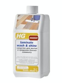 Средство HG для мытья и блеска ламината, 1 л