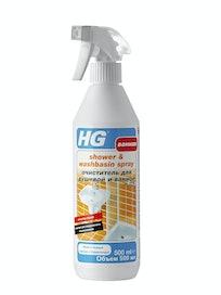 Средство HG для очищения душевой и ванной, 0,5 л
