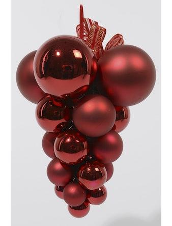 Гроздь шаров CELLO пластик красный 9020931 i