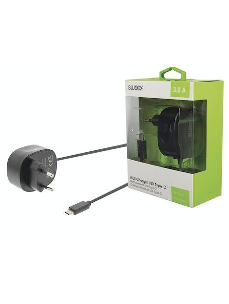 VERKKOLATURI SWEEX USB-C 3.0 A MUSTA