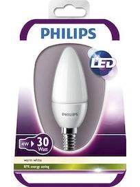 LED-KYNTTILÄLAMPPU PHILIPS 4W 330LM E14