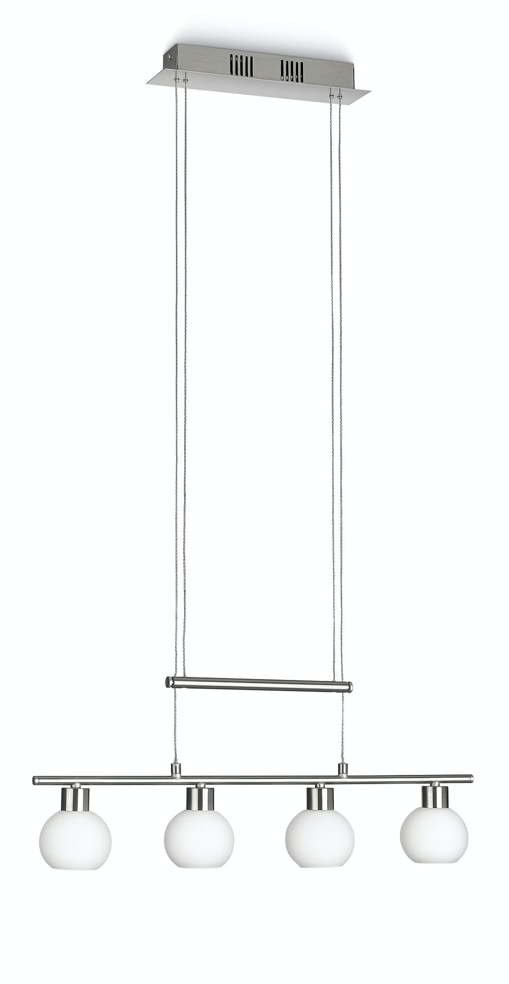Pendel Philips Roch matt krom 4x3.6W 230V