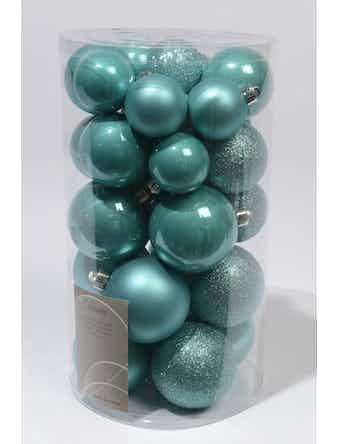 Набор шаров CELLO 30шт пластик бирюза