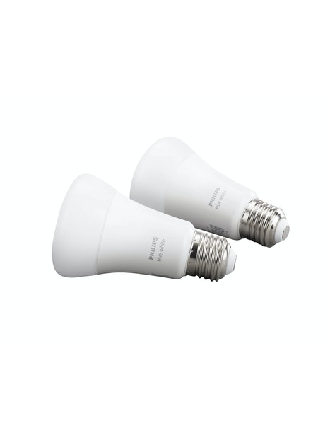 LAMPPU PHILIPS HUE WHITE E27 2KPL 800LM 2700K
