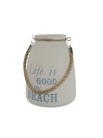 LASILYHTY LIFE AT BEACH 18CM