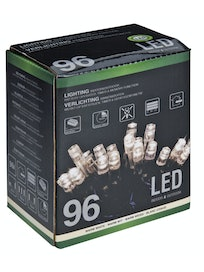 LED-VALOSARJA PARISTOLLA 96 LEDIÄ IP44