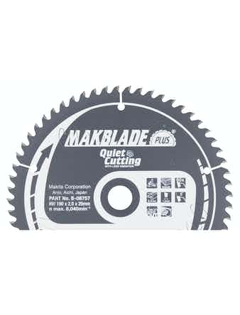 Sågklinga Makita Makblade Plus B-08757 190x20x2,0mm Z-60