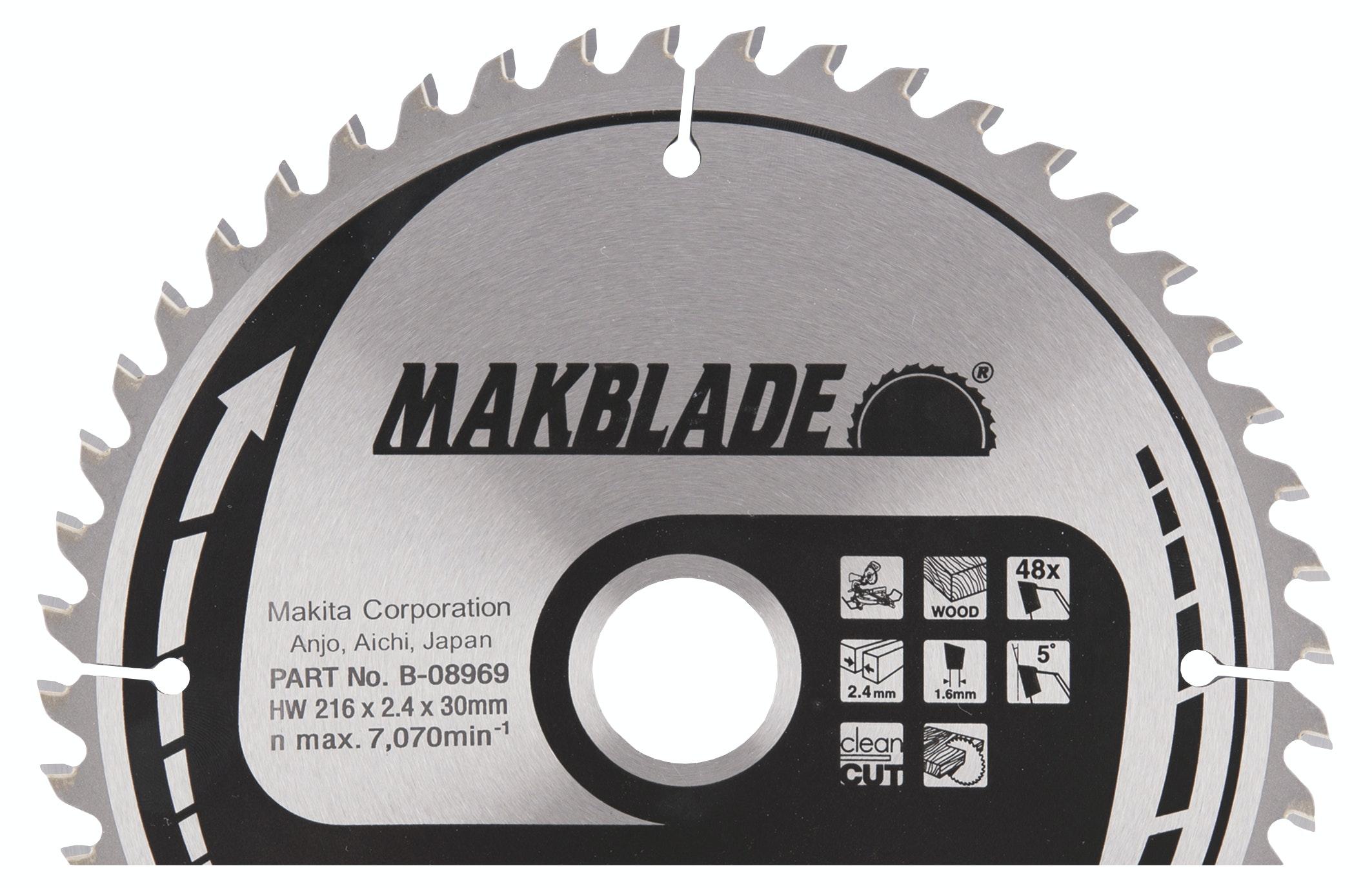 Sågklinga Makita 216x30x2,4mm Z-48