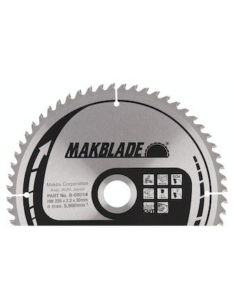Sågklinga Makita 255x30x2,3mm z-60