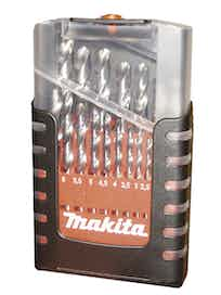 METALLIPORANTERÄSARJA MAKITA 19-OS. 1-10MM HSS-G D-29941