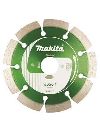 Diamantskiva Makita 115x22,23mm, NEUTRON
