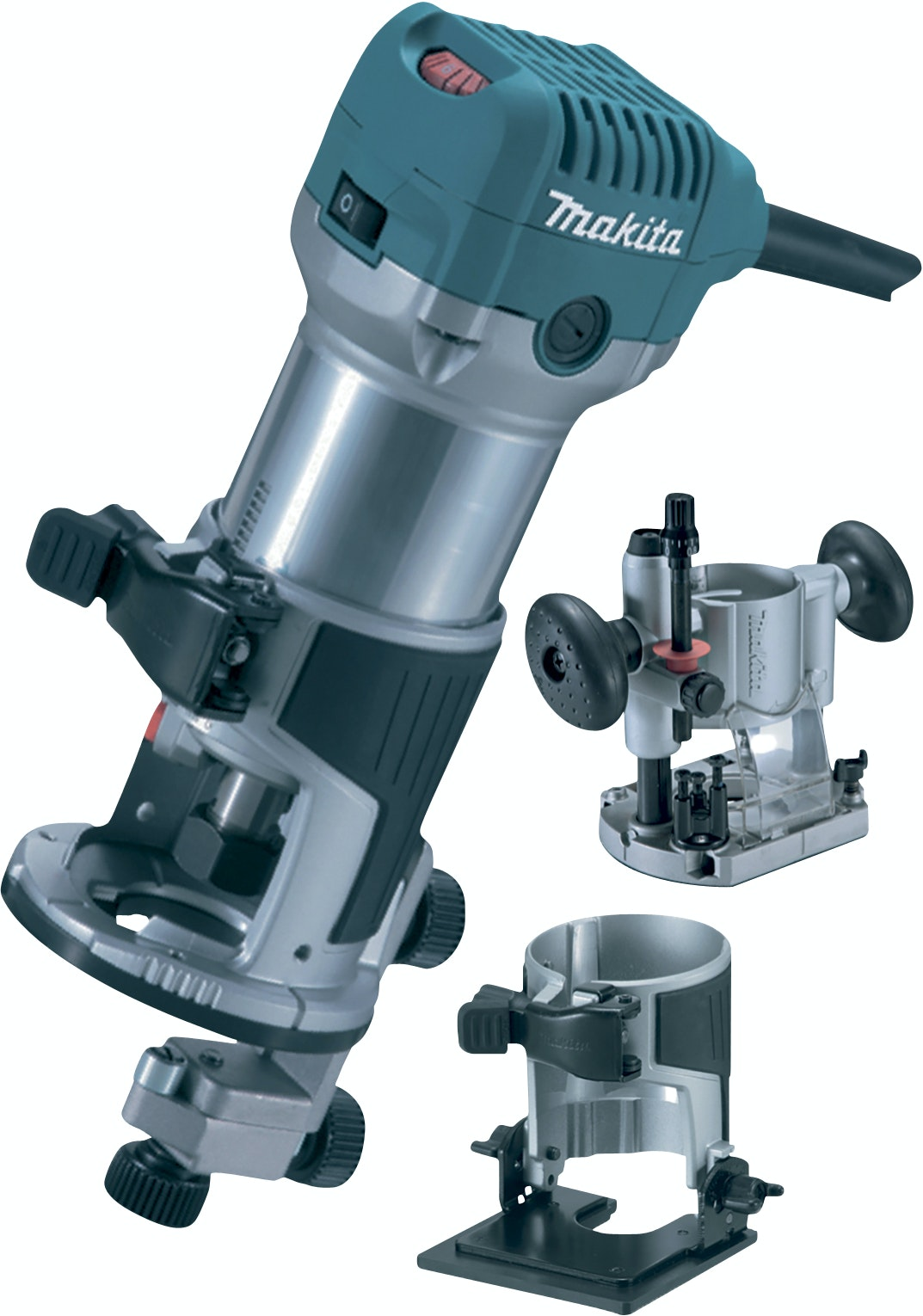 Mulitfräs Makita RT0700CX5J 710 W