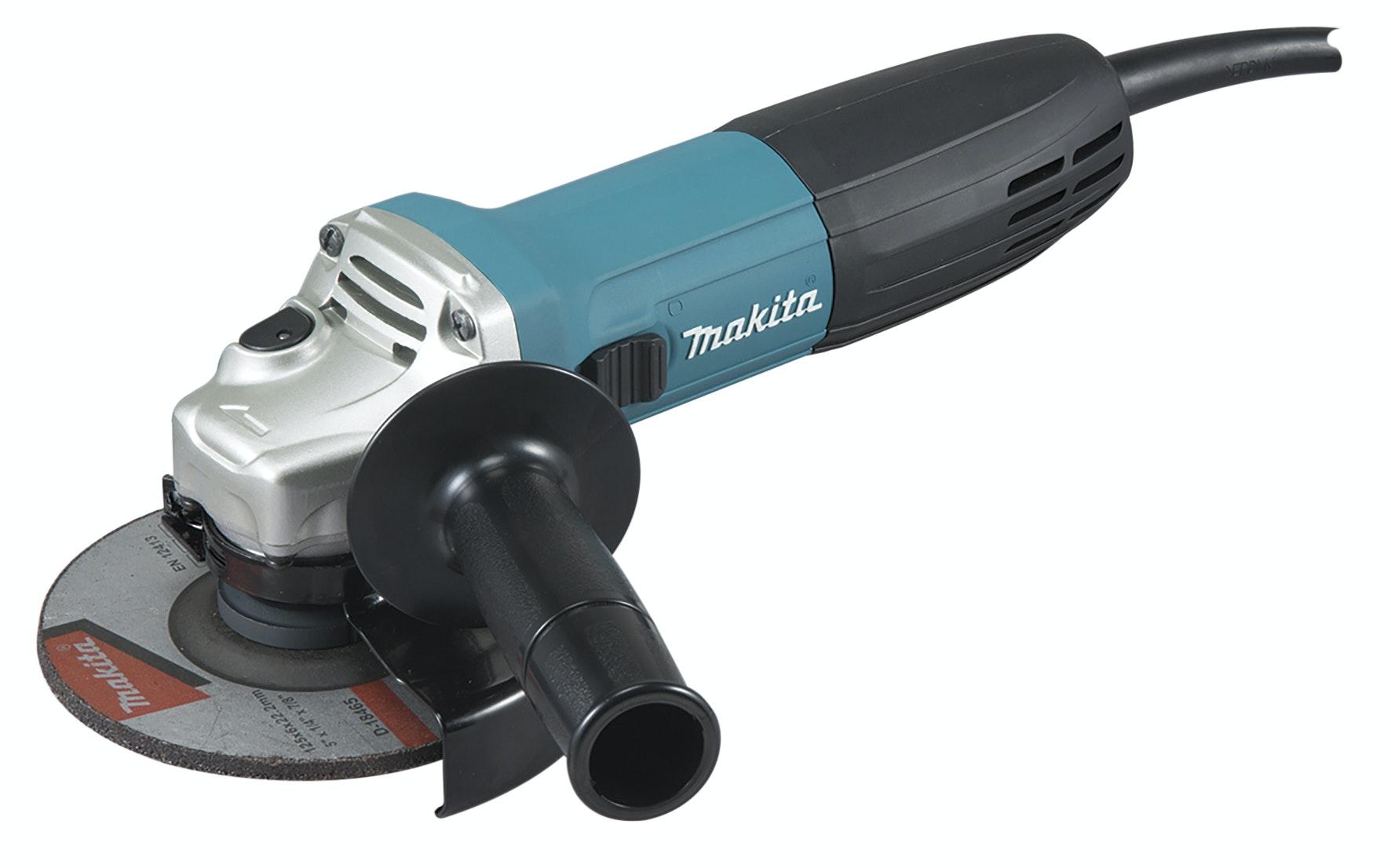 Vinkelslip Makita GA5030R 125mm 730W Återstartsskyddad