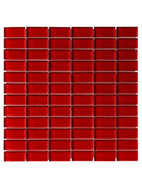 MOSAIIKKI CRISTL 2,3X4,8 RED 30X30 PUN