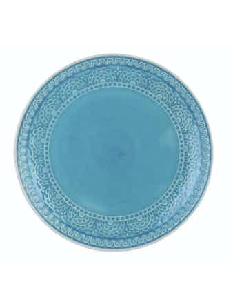 Тарелка Tongo голубая 26,7 см PL-267b
