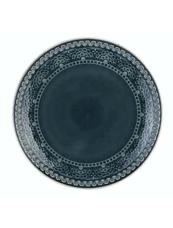 Тарелка Tongo серая 26,7 см PL-267g