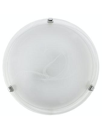 Plafond Eglo Salome D30 Alabaster/Krom