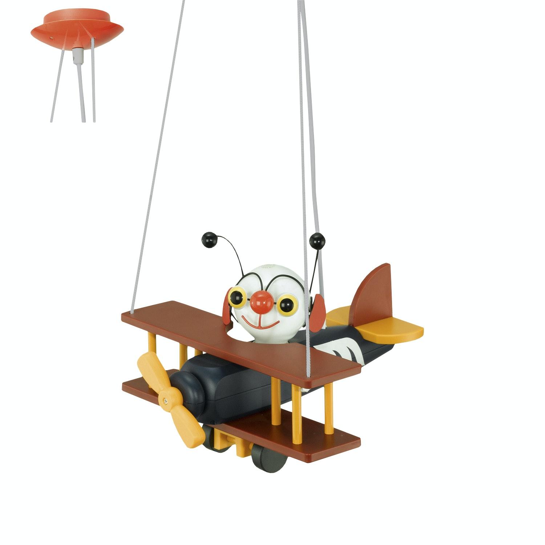 Taklampa Eglo Airman Barn Flygplan