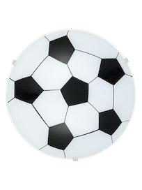 Светильник настенно-потолочный Eglo Junior 1 Футбол 87284, 1 х Е27 х 60 Вт