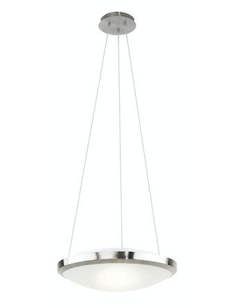 Saturnia Taklampa 3L D51 B-Stål/Opal