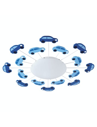 Plafond Eglo Viki Med Bildekorer i Blått