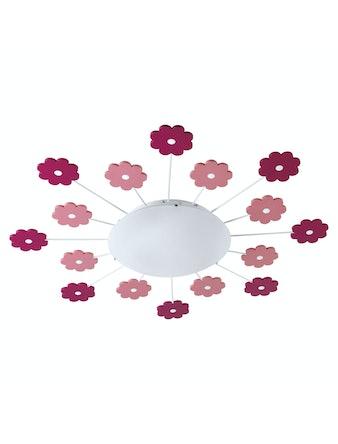 Plafond Eglo Viki Med Blomdekorer i Rosa